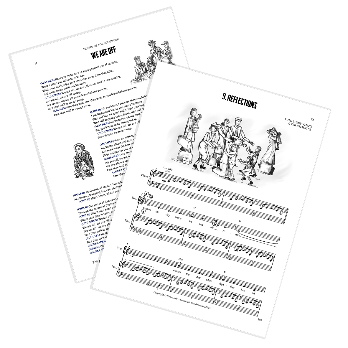 Pages from the songbook
